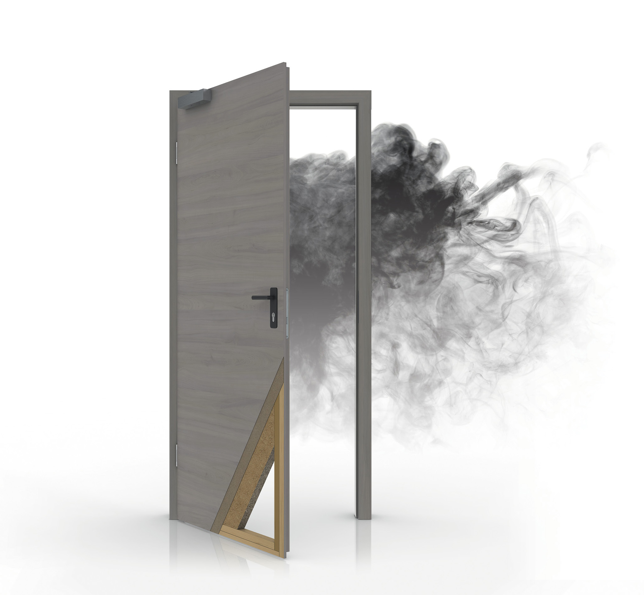 Usa rezistente la fum
